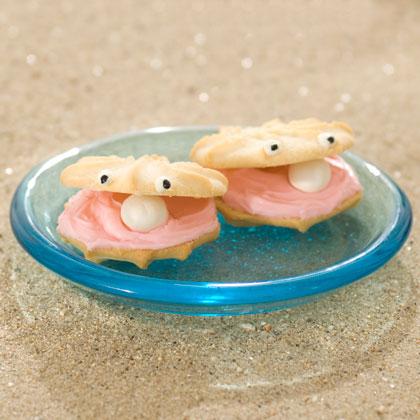 Biscotti a forma di conchiglie