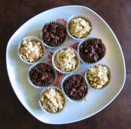biscotti cornflakes e cioccolato