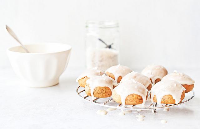 biscotti di natale miele e vaniglia