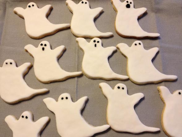 biscotti fantasmini halloween