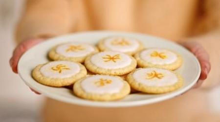 biscotti light limone con glassa