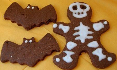 biscotti per halloween cioccolato