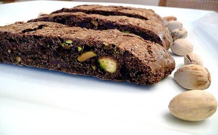 biscotti pistacchio e cioccolato