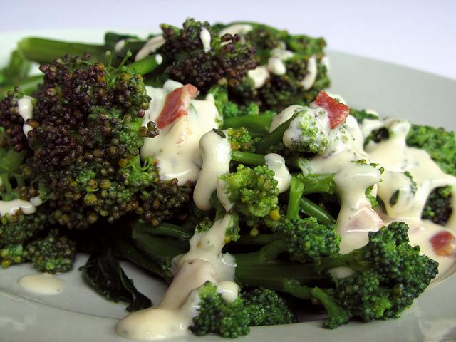 broccoli con bacon ricetta
