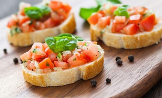 bruschette ricette vegetariane