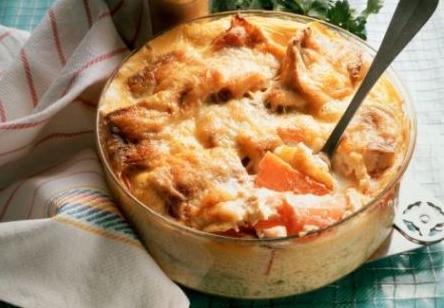 Gratin di carote e bietole