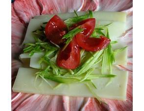 carpaccio vegetariano