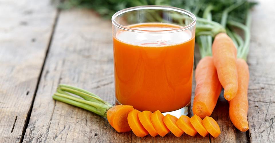 centrifugato di carote