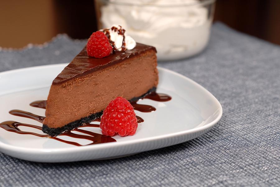 cheesecake al cioccolato la ricetta