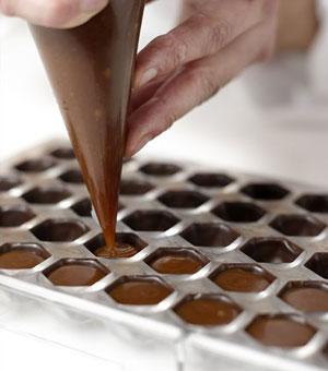 cioccolatini preparazione