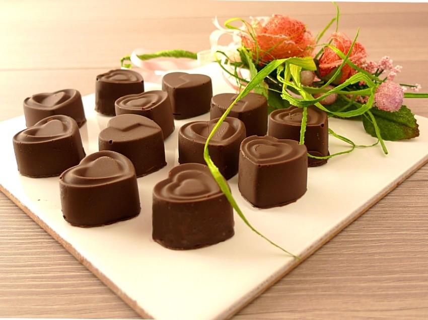 cioccolatini ripieni di menta