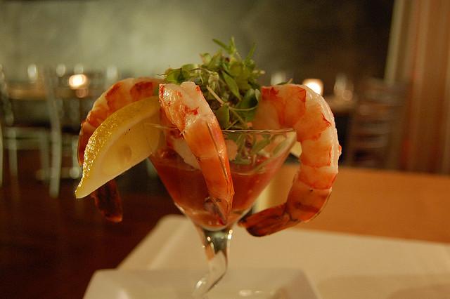 cocktail di gamberi la ricetta