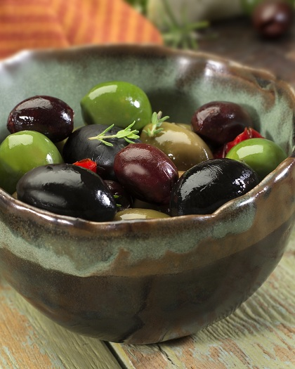 conservare le olive