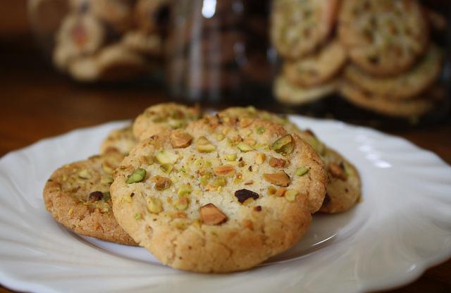 cookies al pistacchio ricetta