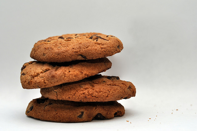 cookies americani la ricetta