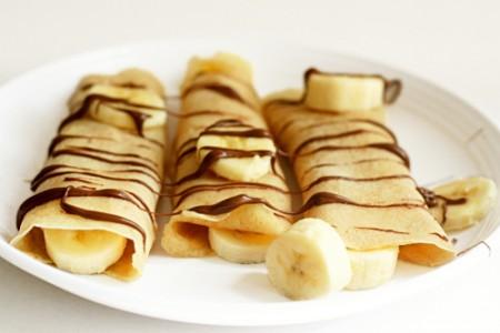 crepes banana