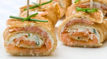 crepes salmone rotolini