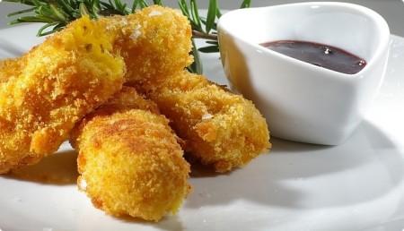 Bocconcini fritti di zucca
