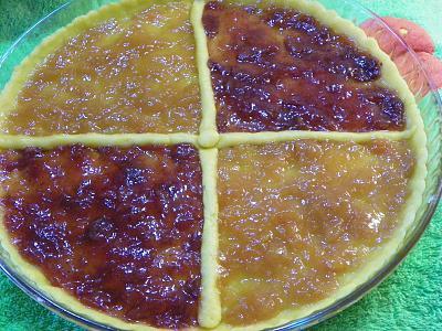 crostata due colori