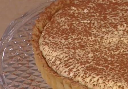 crostata tiramisu