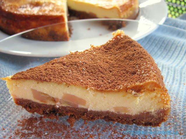 dolci natale vegani cheesecake cannella