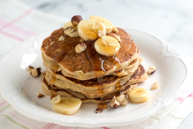 dolci natale vegani pancake banana