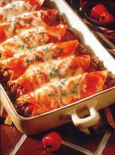 Enchiladas di pollo
