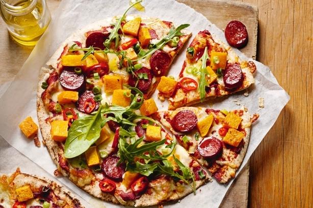farcire pizza