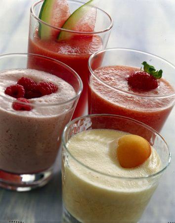 frappè di fragole e melone