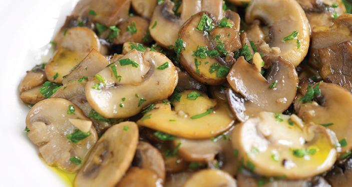 funghi trifolati la ricetta