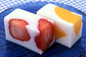gelatine con frutta