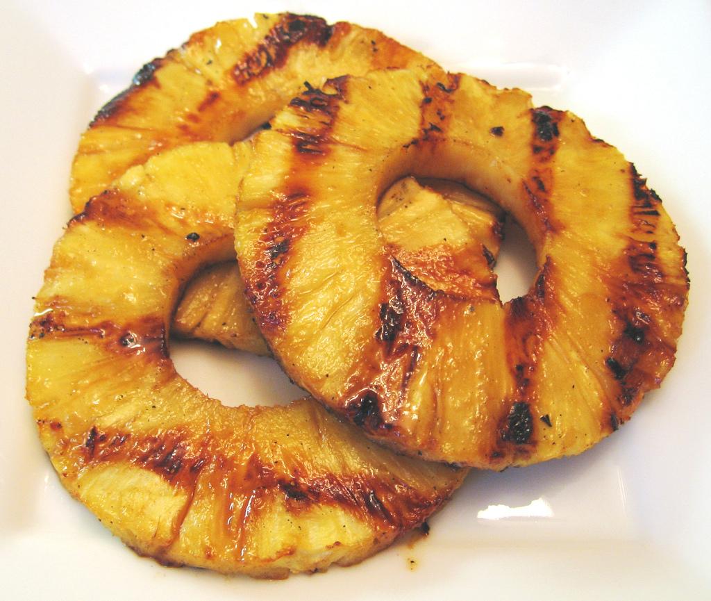 grigliata pasquetta ananas