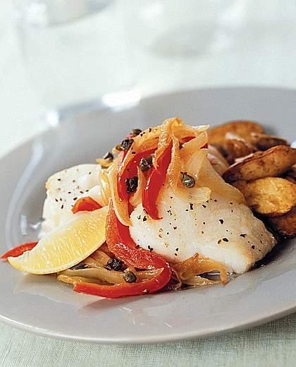 halibut al forno