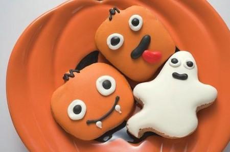 halloween biscotti zucca e fantasmi