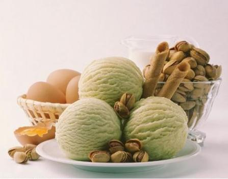 ingredienti gelato pistacchi
