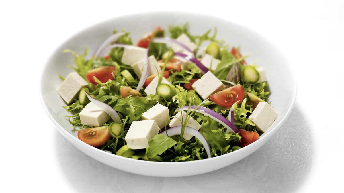 insalata pomodori e tofu