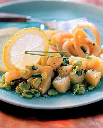 insalata di seppie e patate