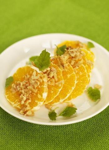 insalata tiepida arance