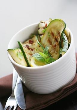 insalata zucchine grigliate