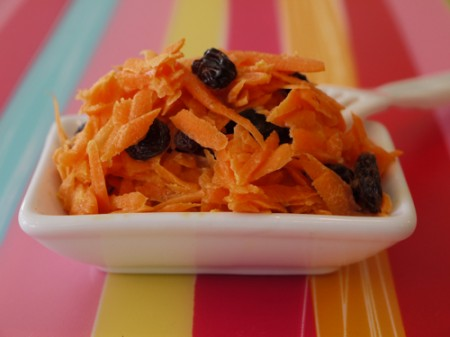 insalata.carote uvetta
