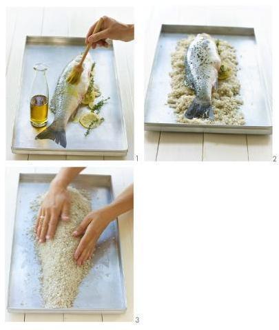 istruzioni crosta sale