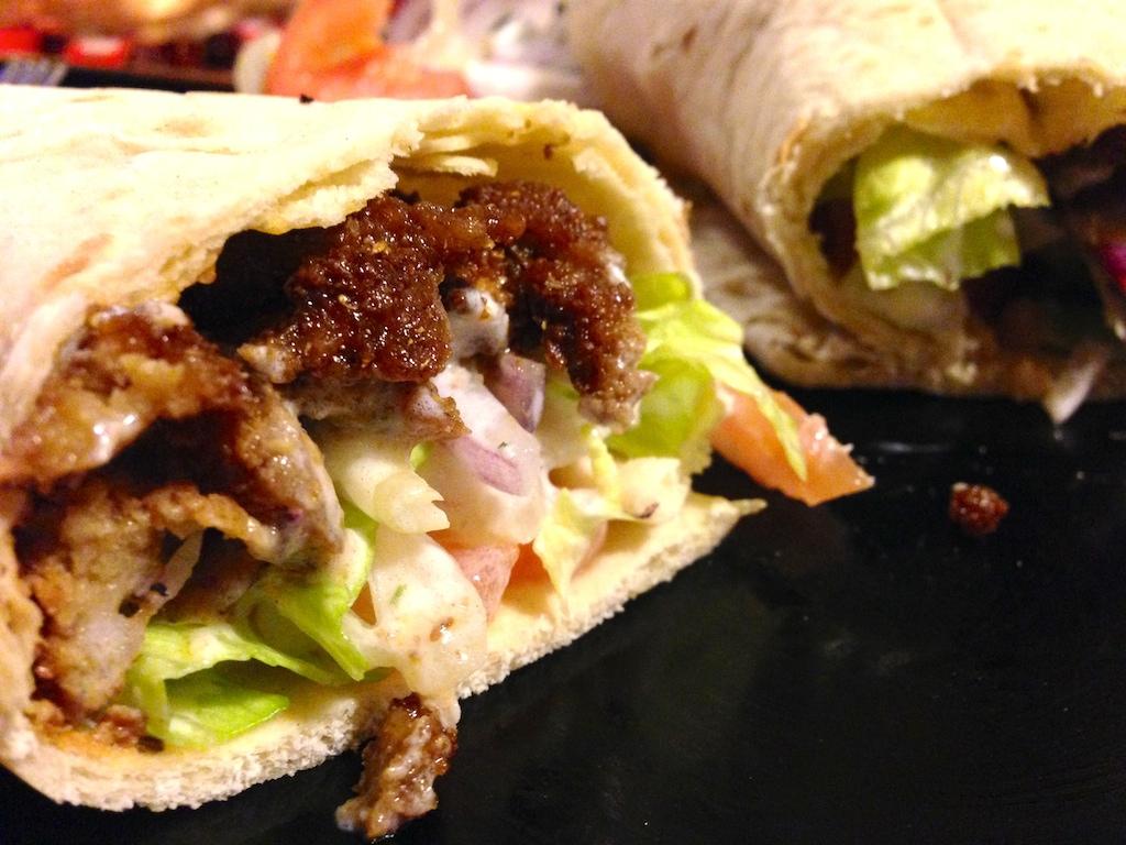 kebab seitan vegetariano