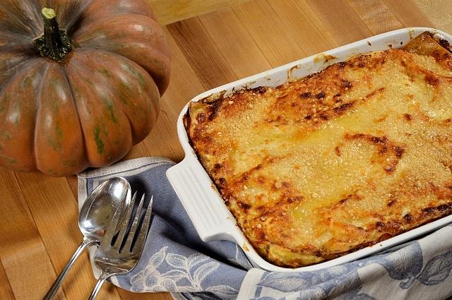 lasagne alla zucca ricetta