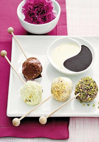 Lecca lecca di gelato