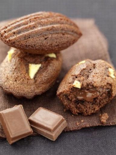 madeleine cioccolato ricetta