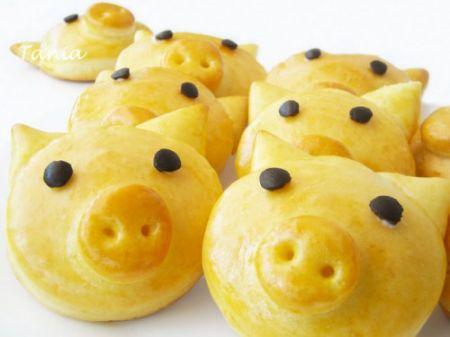 Ricette per bambini maialini di pan brioches pourfemme for Ricette per bimbi