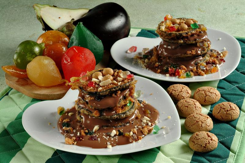 melanzane al cioccolato.ricetta