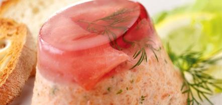 mousse di salmone sformato