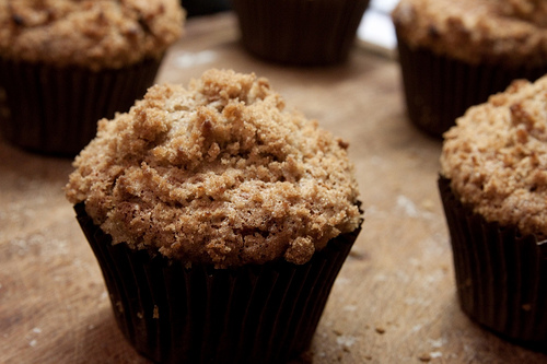 muffin banana e cereali