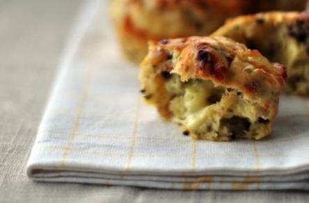 muffin con olive ricetta